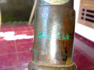 gazelle-tulisan-tube-depan